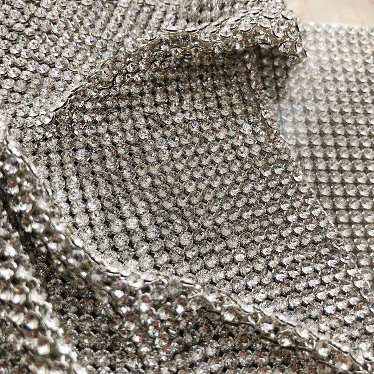 Кристальная ткань Swarovski